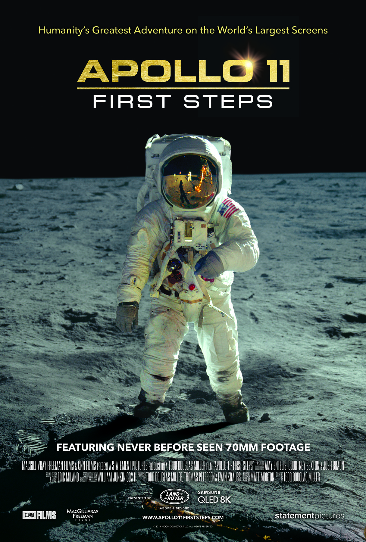 Movie Poster for Apollo 11: First Steps