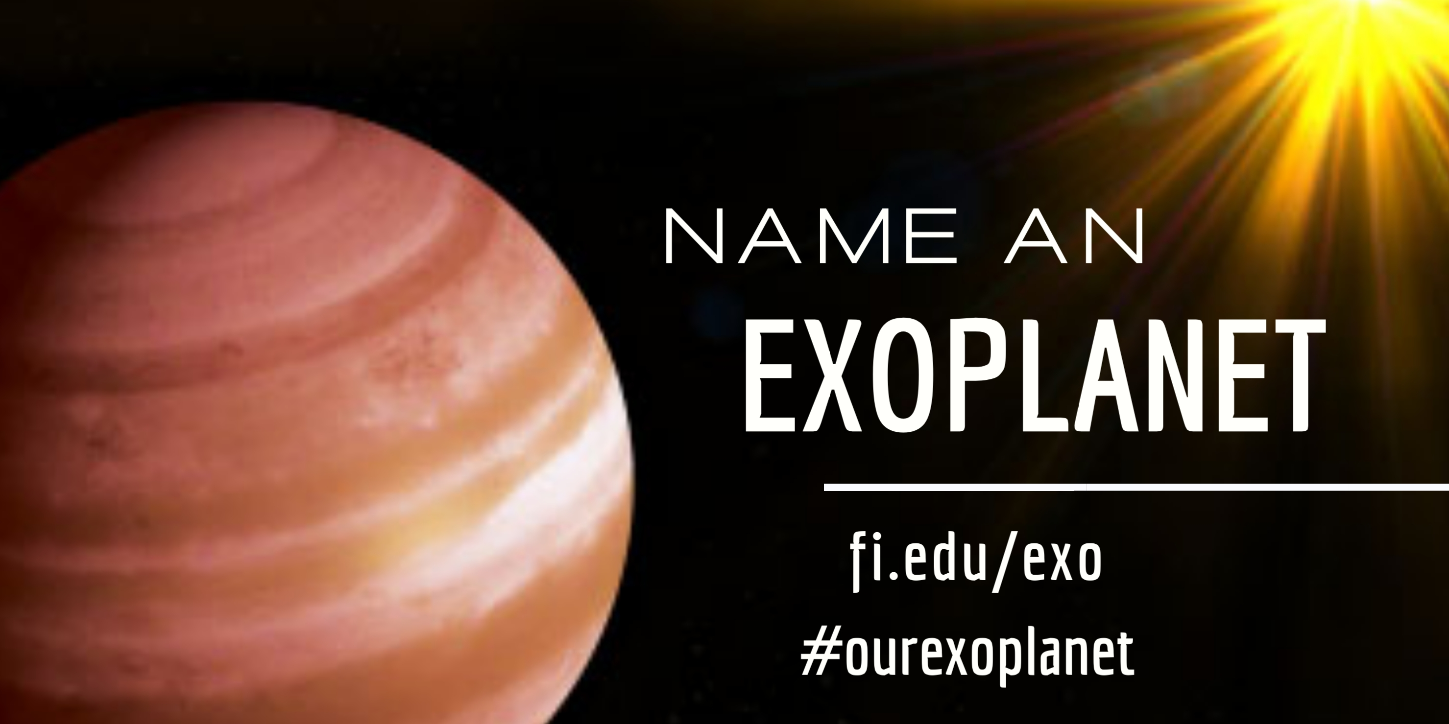 You Can Name An Exoplanet!