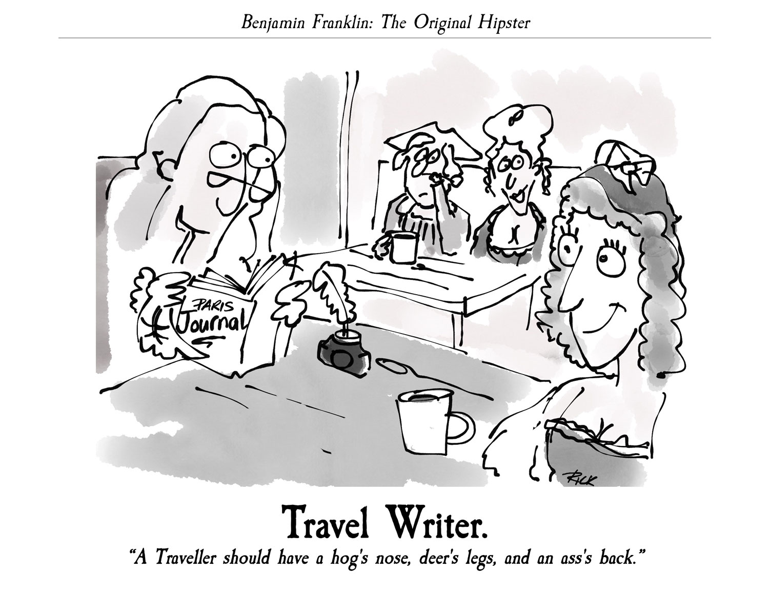 Benjamin Franklin: The Original Hipster - Travel Writer