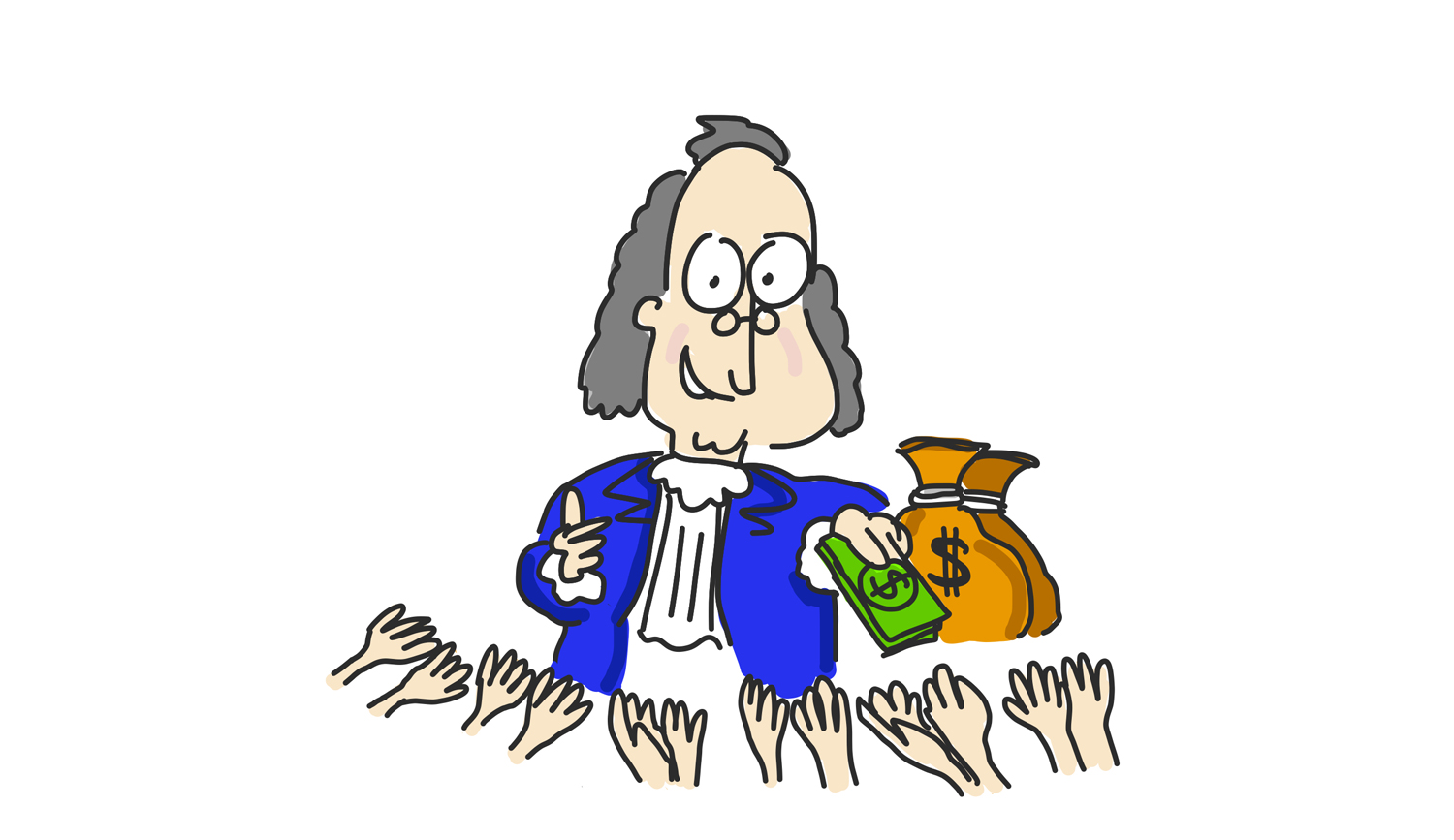 Benjamin Franklin as a philanthropist