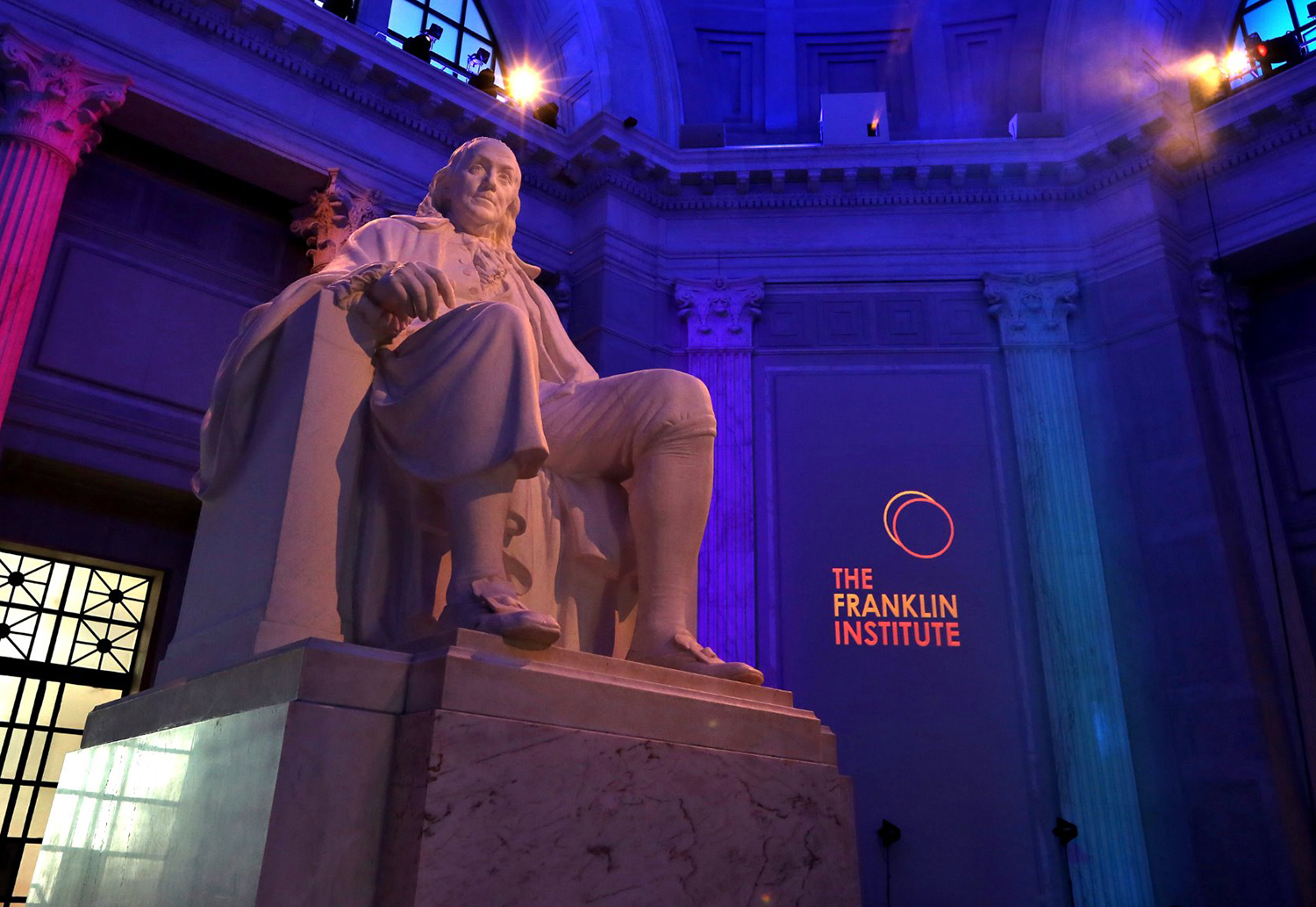 Benjamin Franklin Memorial at The Franklin Institute