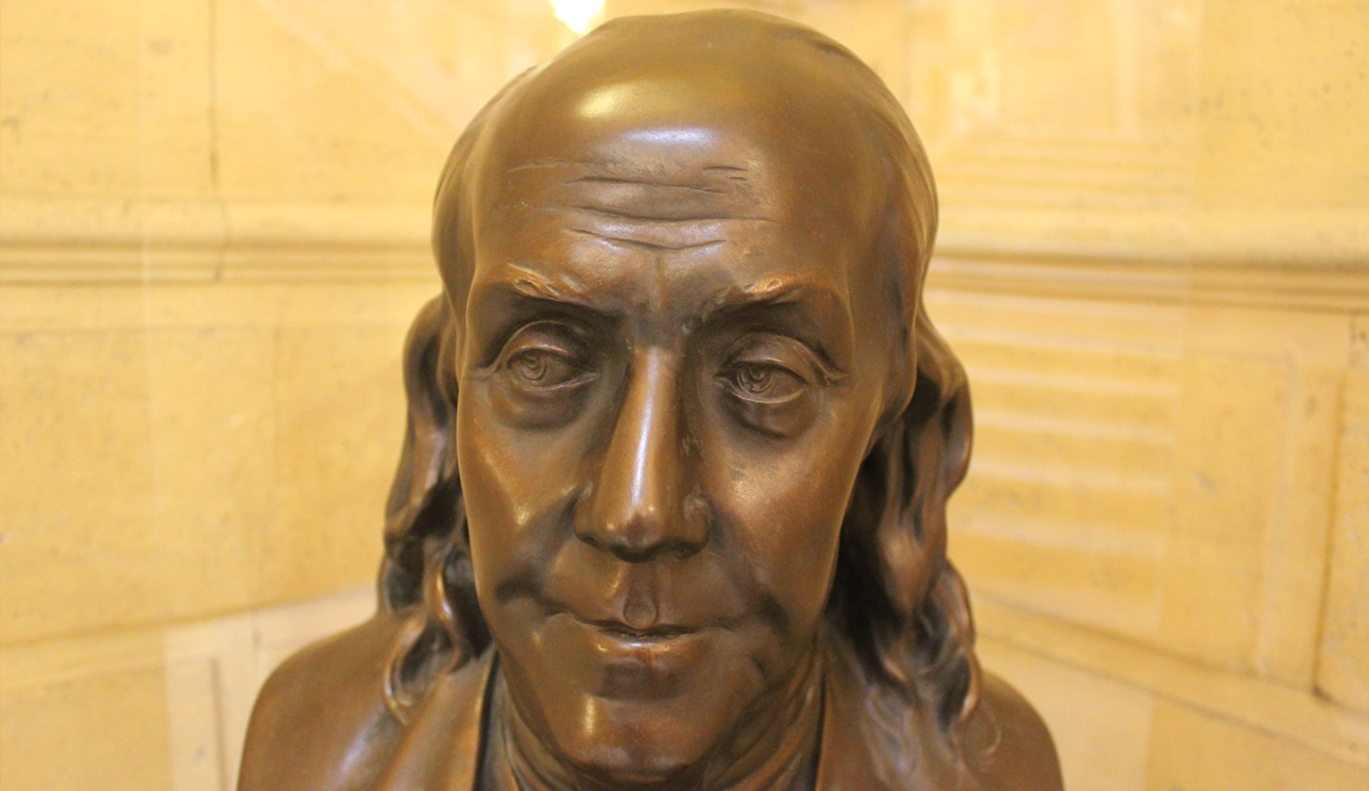 Bust of Benjamin Franklin (Reproduction)