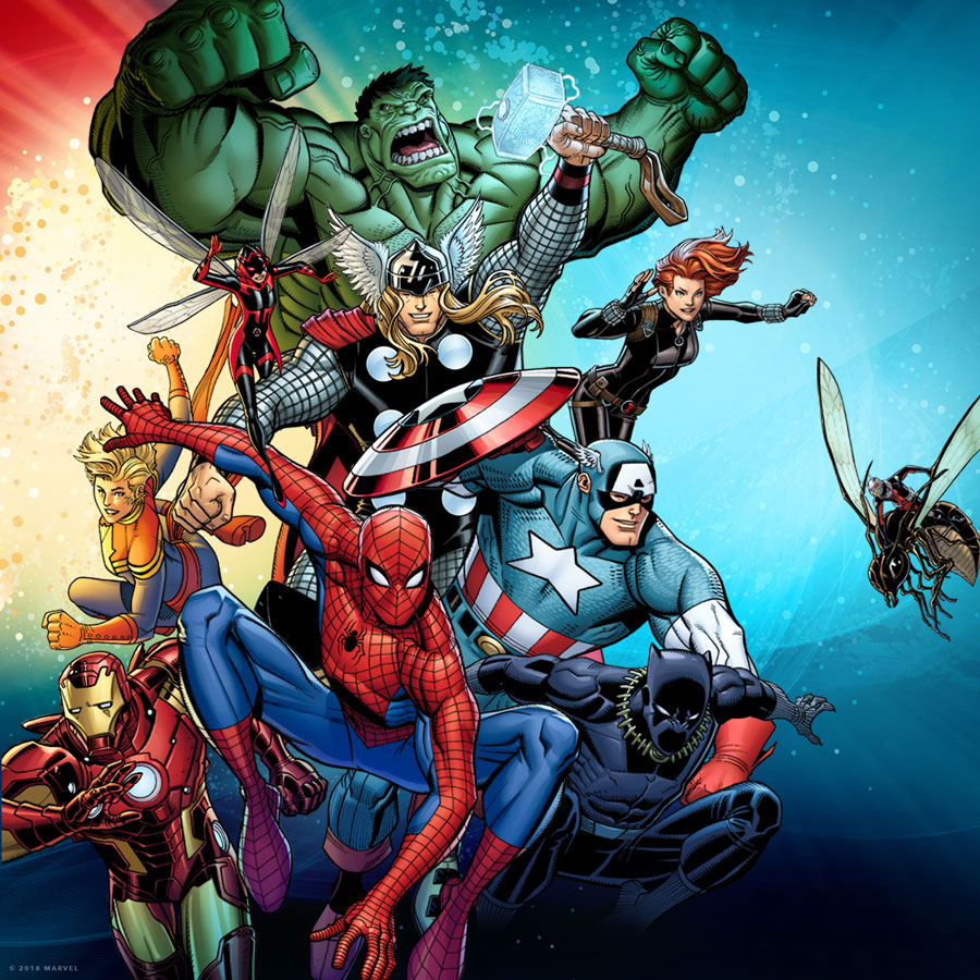 Marvel Universe of Super Heroes Characters