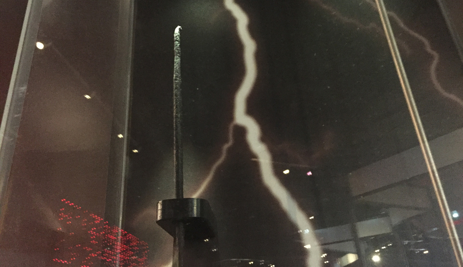 Franklin's Lightning Rod (Fragment)