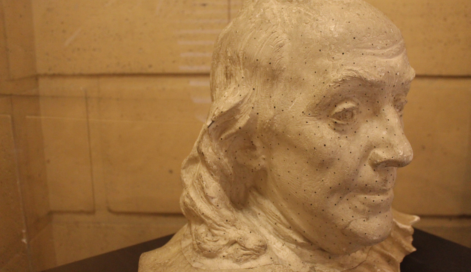 Maquette of the Bust of Franklin