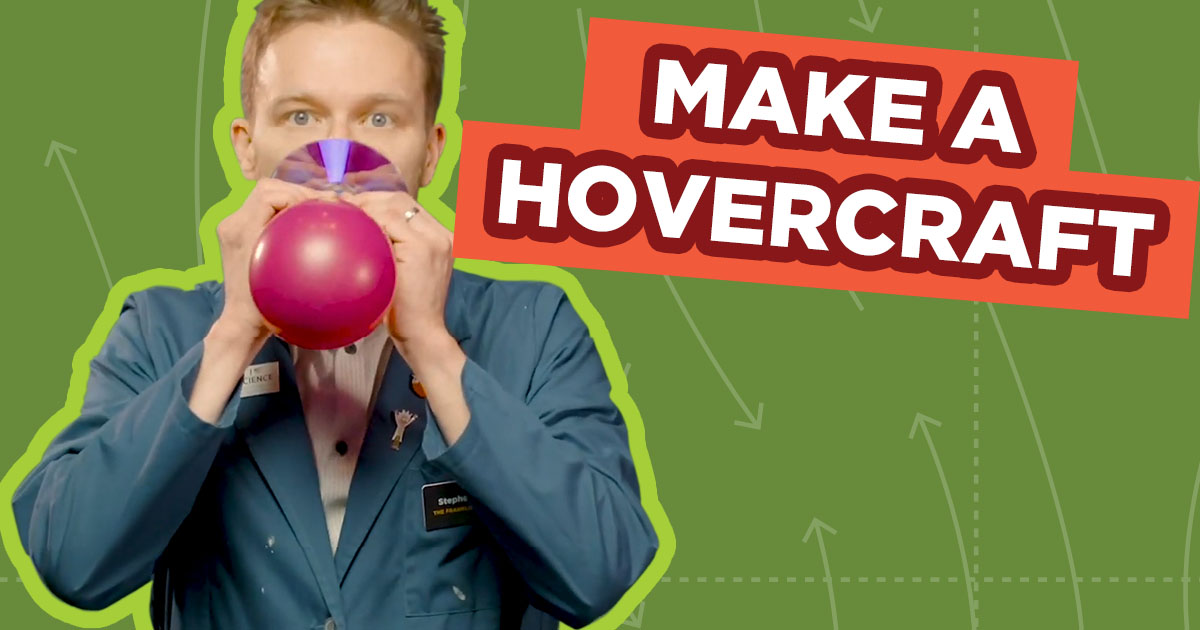 Spark of Science Hovercraft Graphic