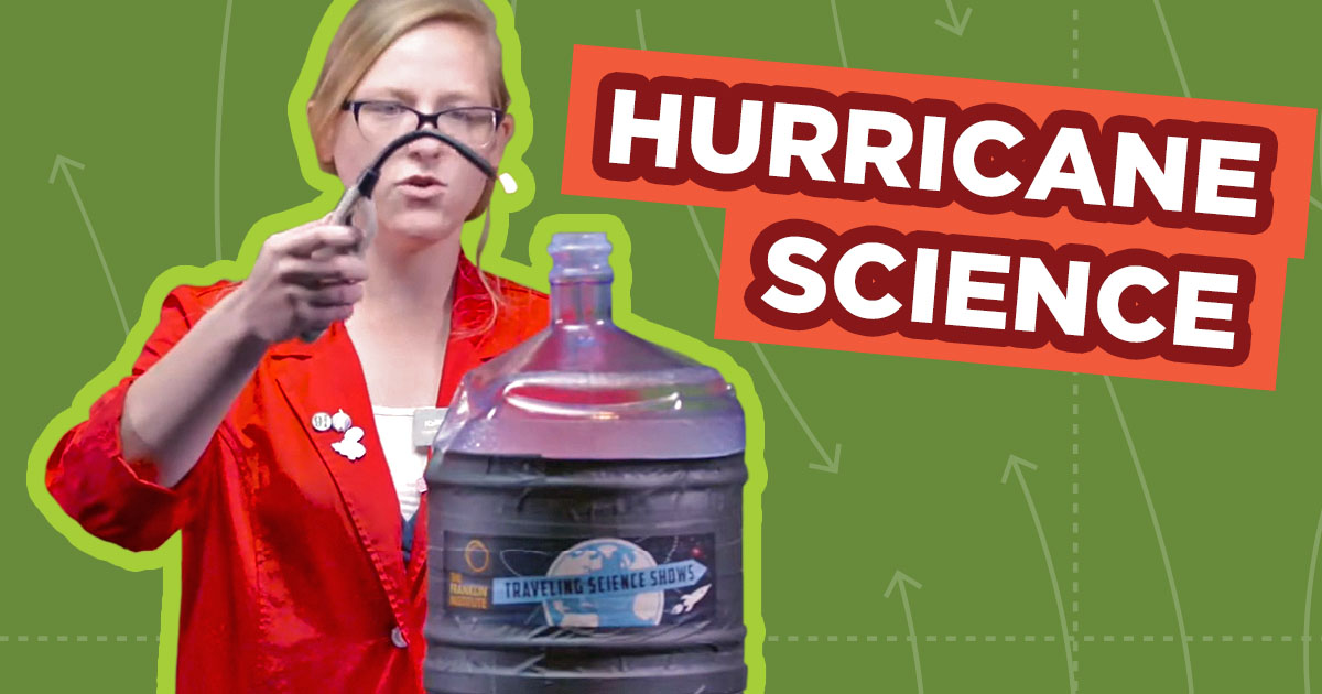 Spark of Science Hurricane Graphic