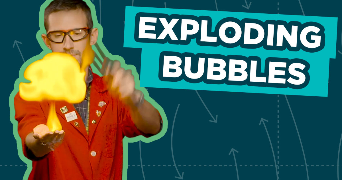 Spark of Science Bubbles Graphic