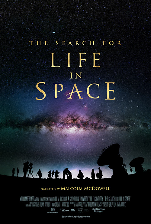 The Search for Life in Space Movie Poster