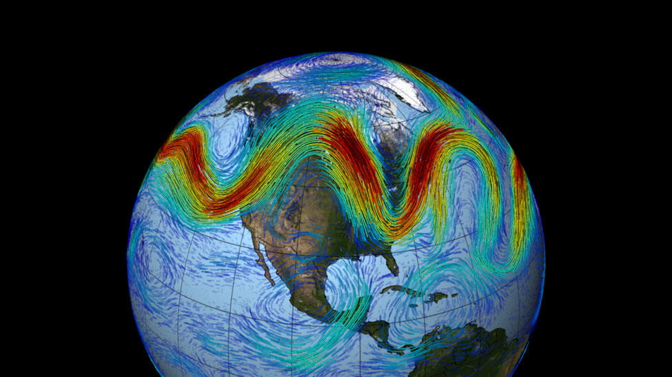 Polar Vortex - NASA Visualization