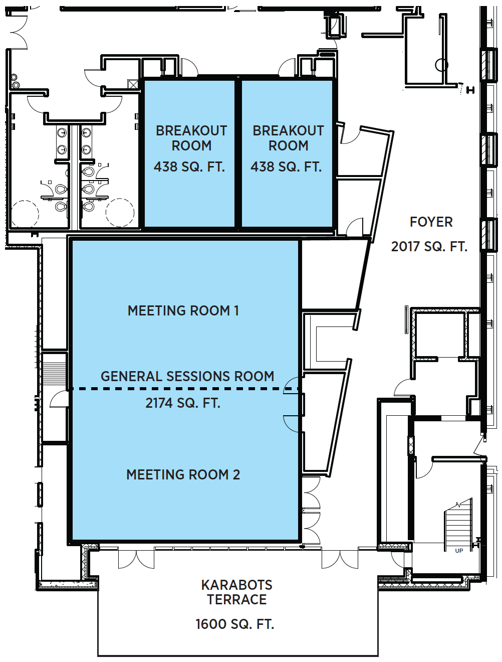 Conference Center floor plan
