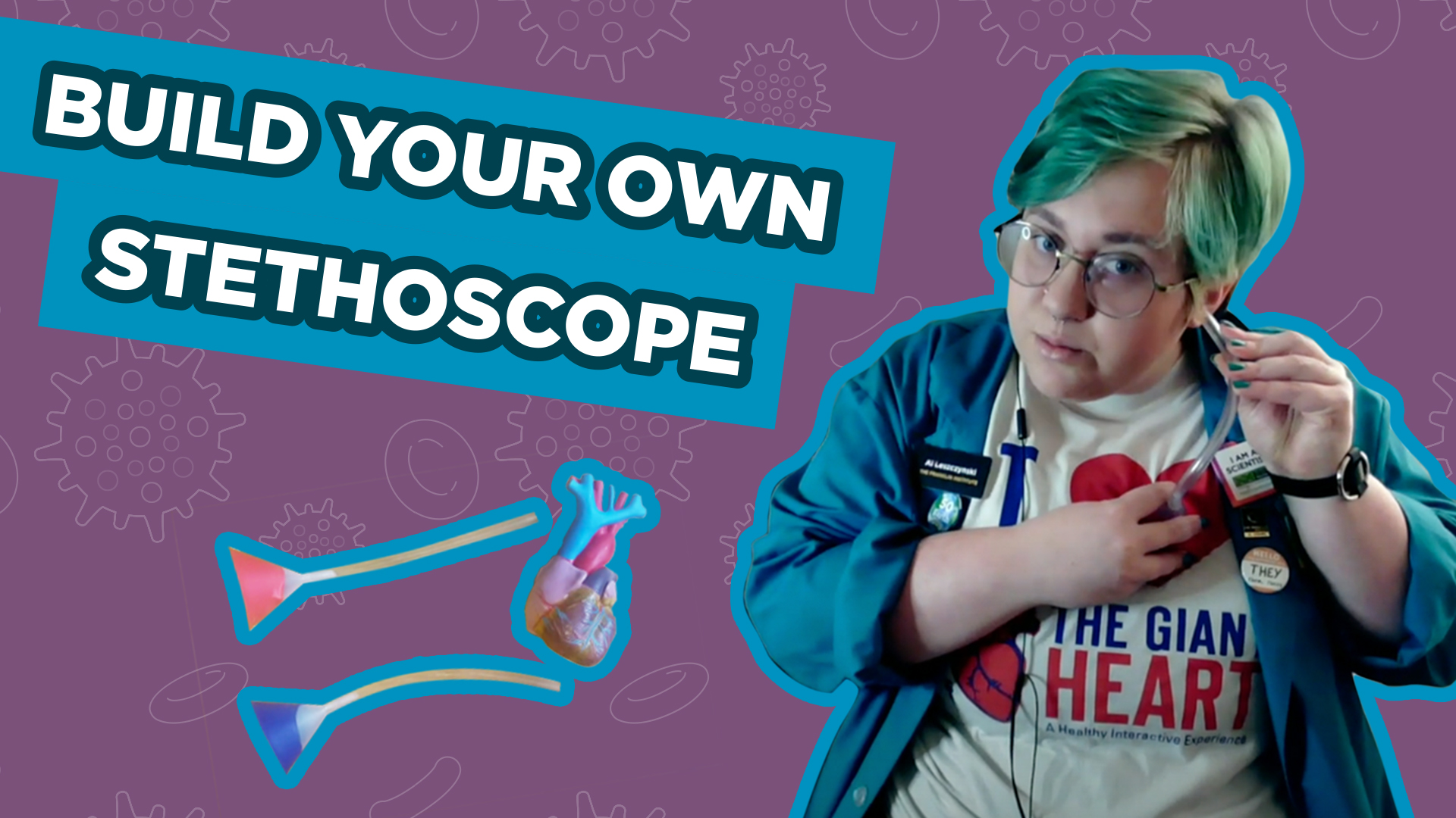 Spark of Science Build Your Own Stethoscope