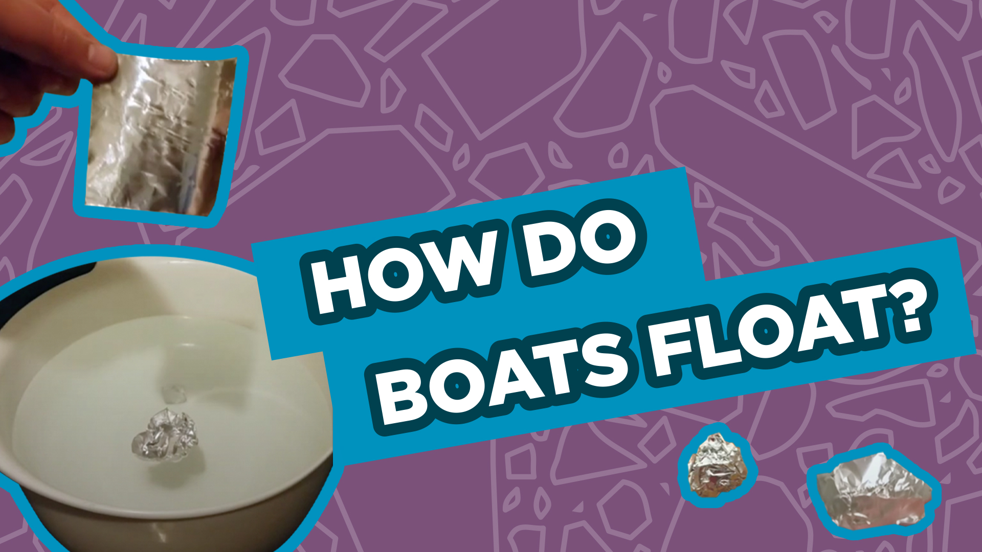 Spark of Science How Do Boats Float