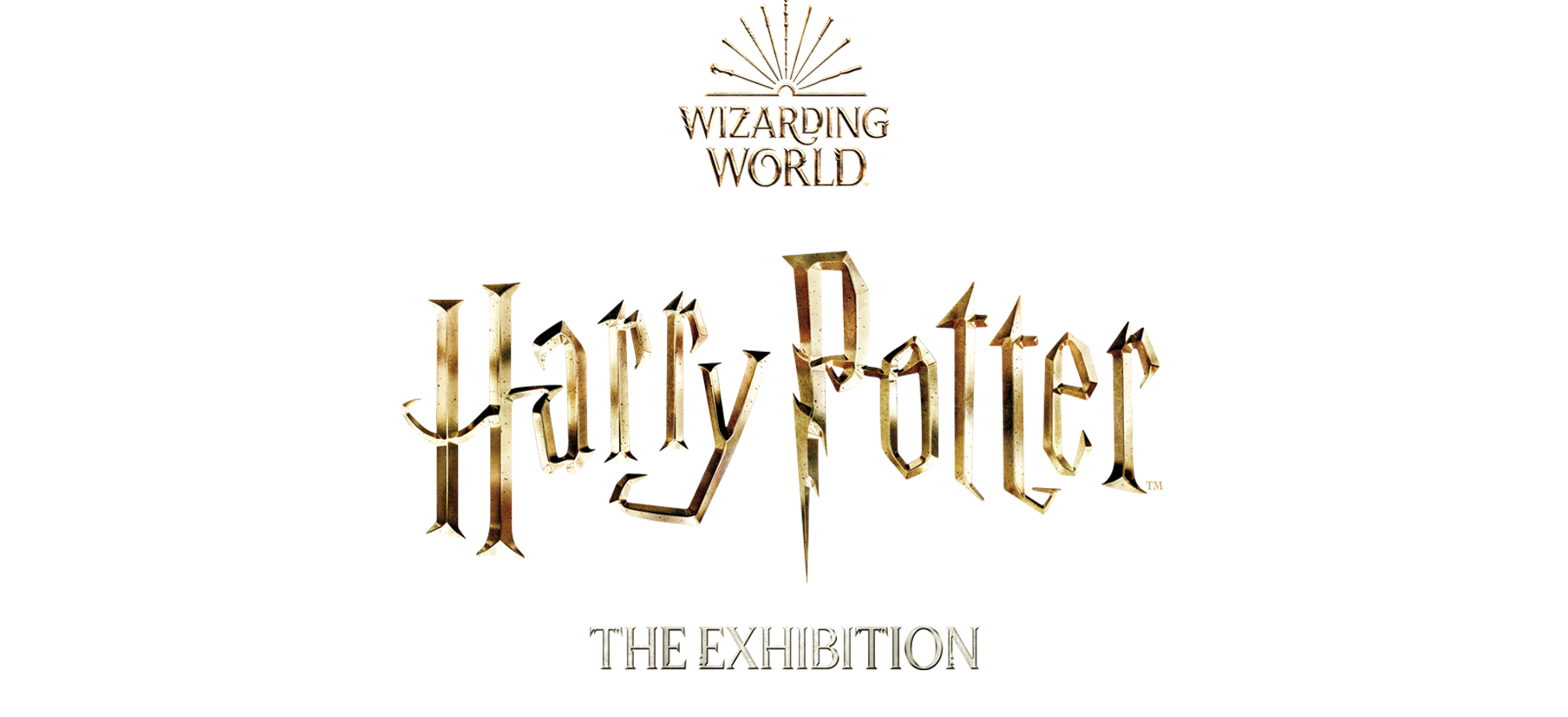 Harry Potter: The Exhibition Logo image