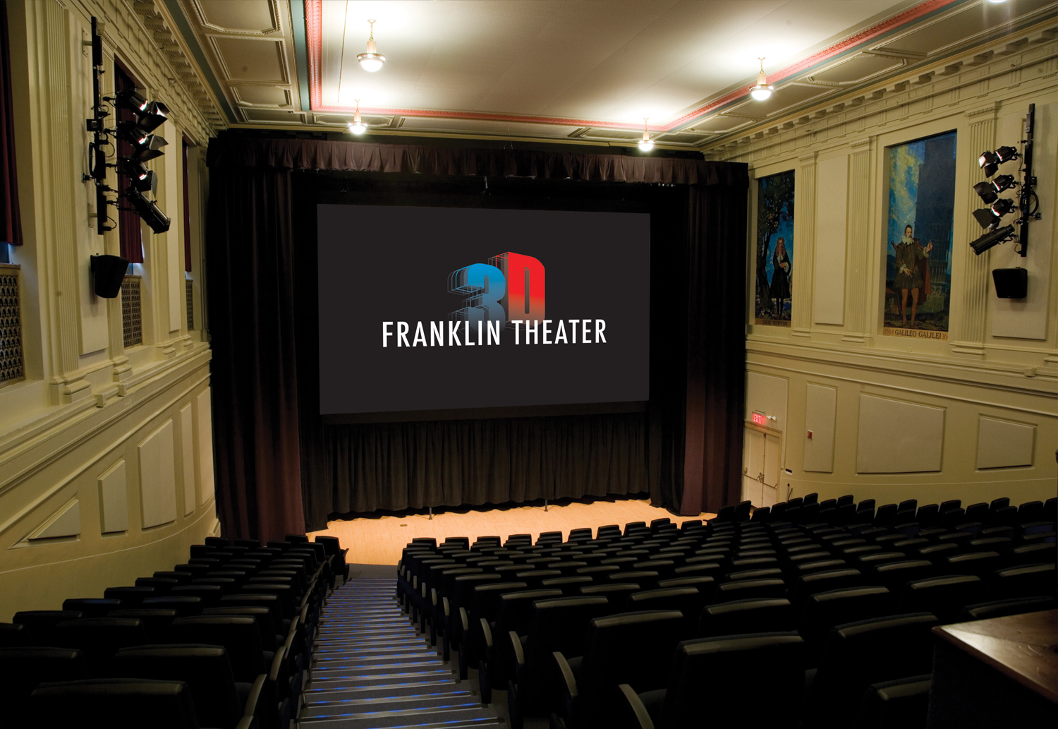 the franklin theater u0026 musser demonstration theater the franklin