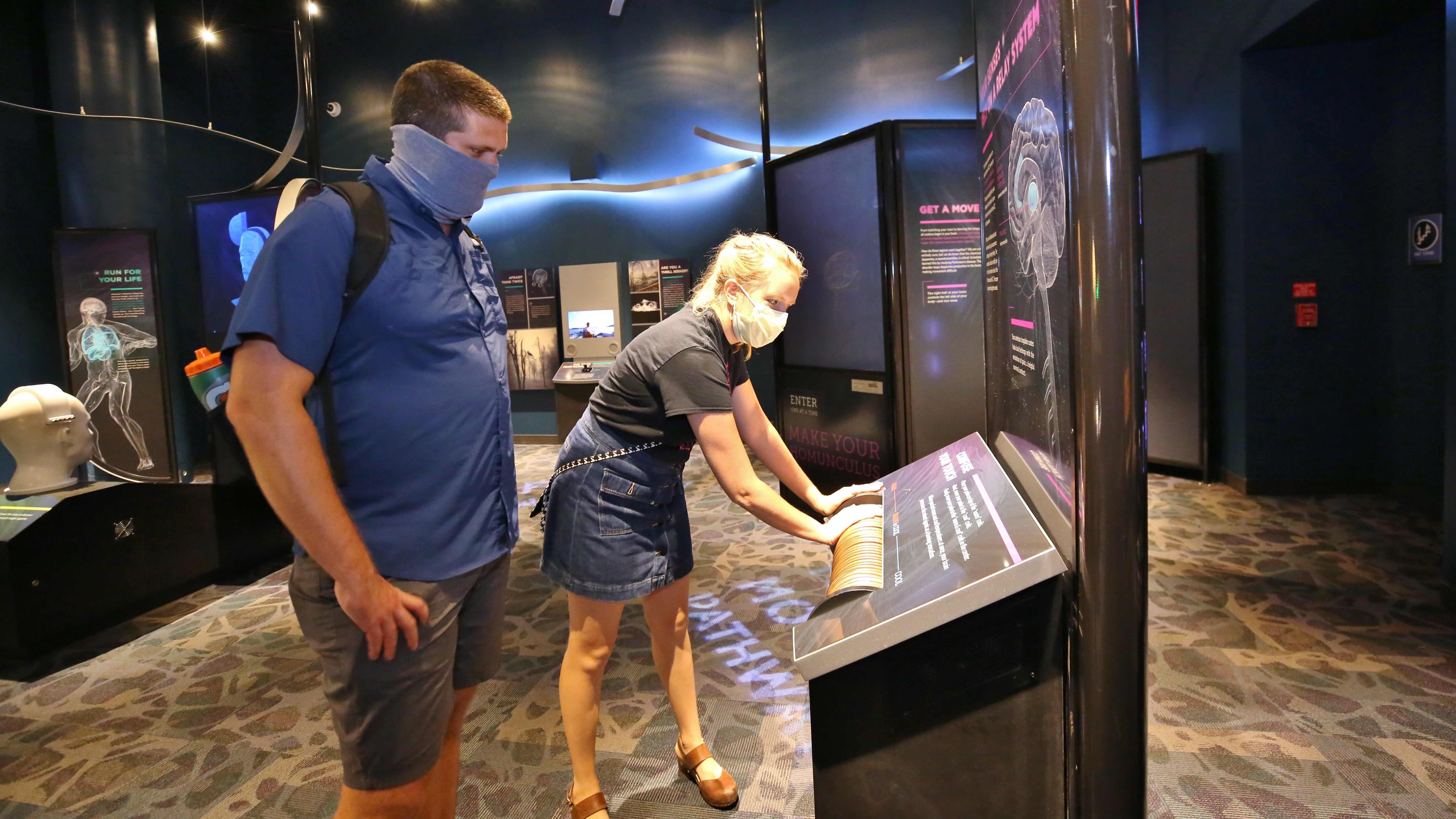Playing in the Brain Exhibit