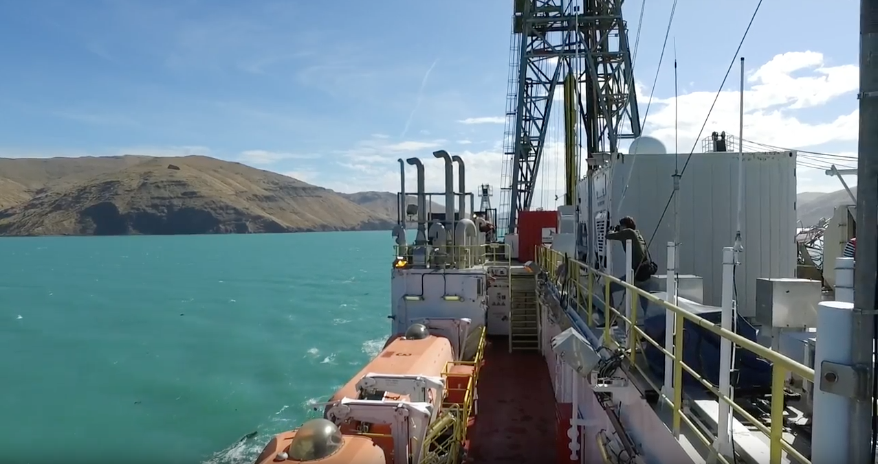 IODP expedition vessel Joides Resolution