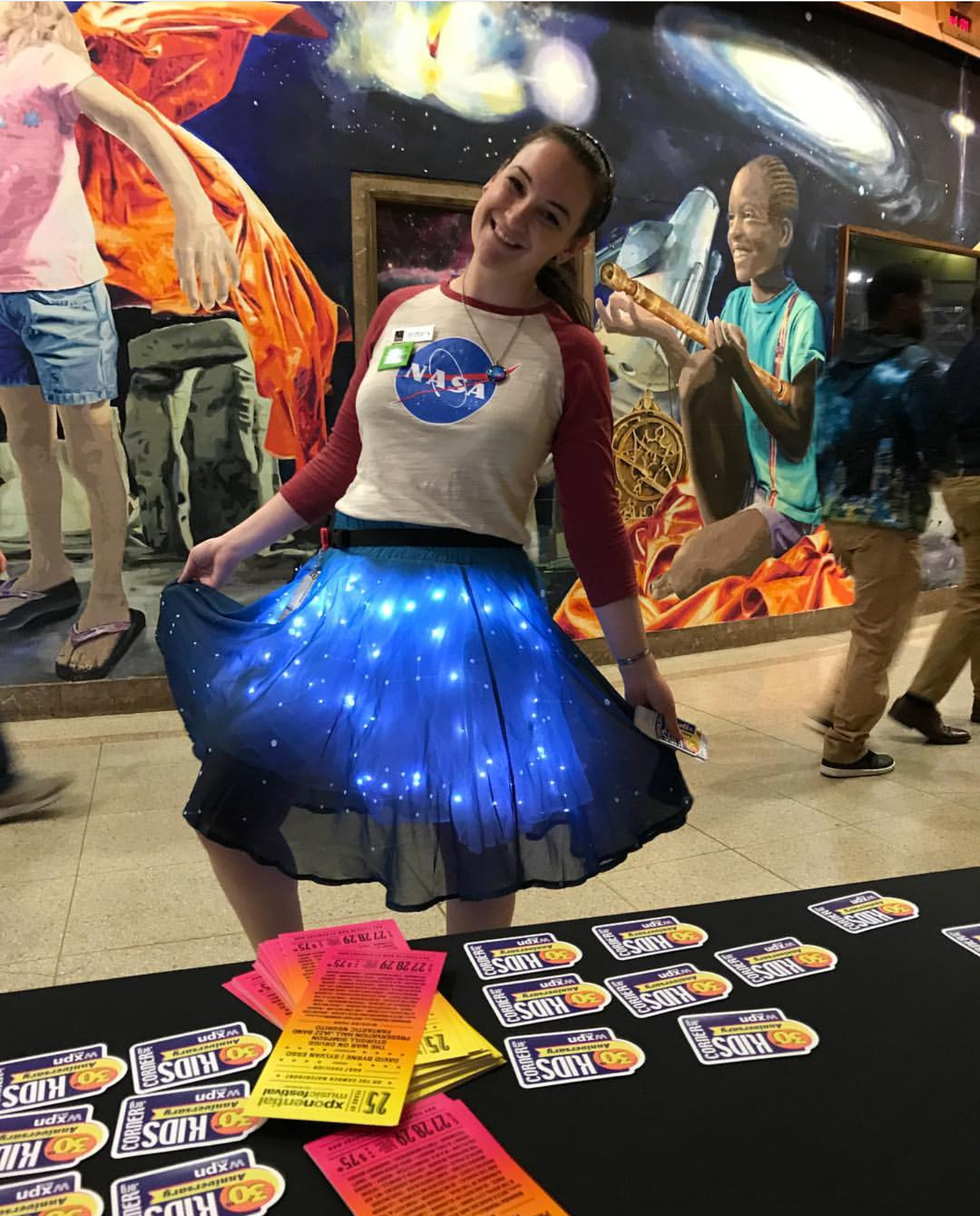 Brittany-NASA-Girl
