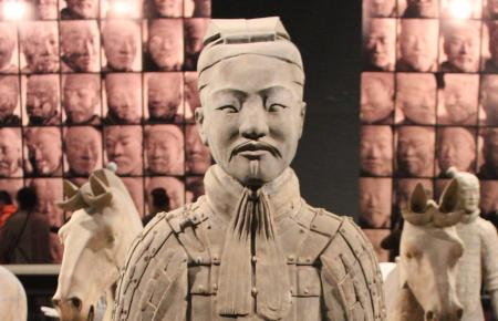 Terracotta Warriors at The Franklin Institute