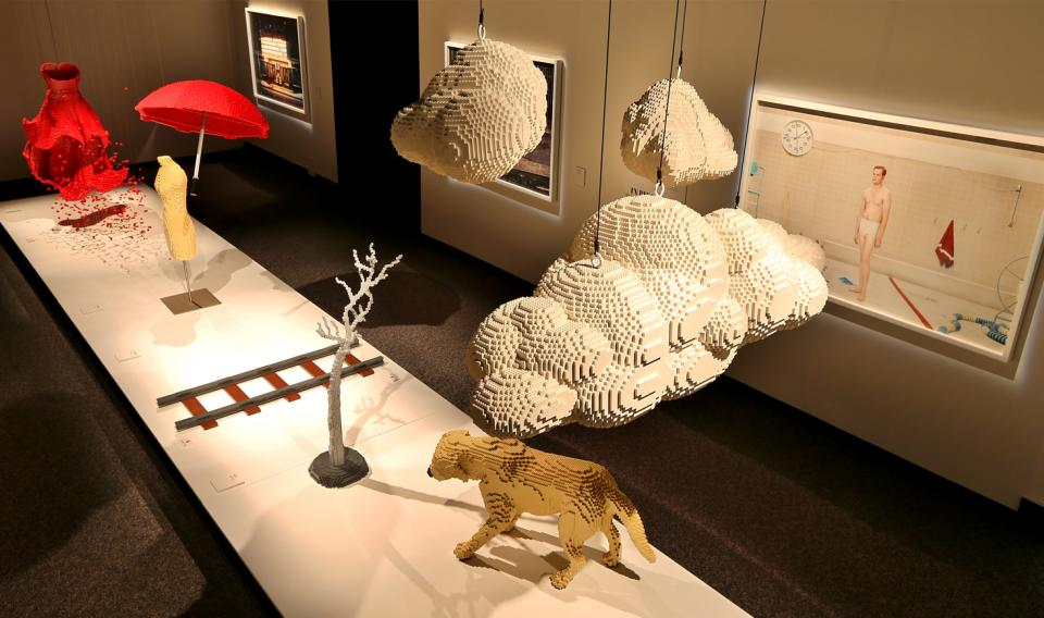 The Art of the Brick exhibit that was previously offered at The Franklin Institute
