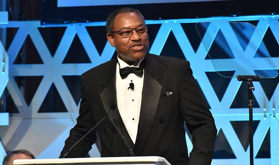 Derrick Pitts MC of The Franklin Institute Awards