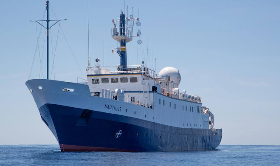 Image of the Ship E/V Nautilus at Sea