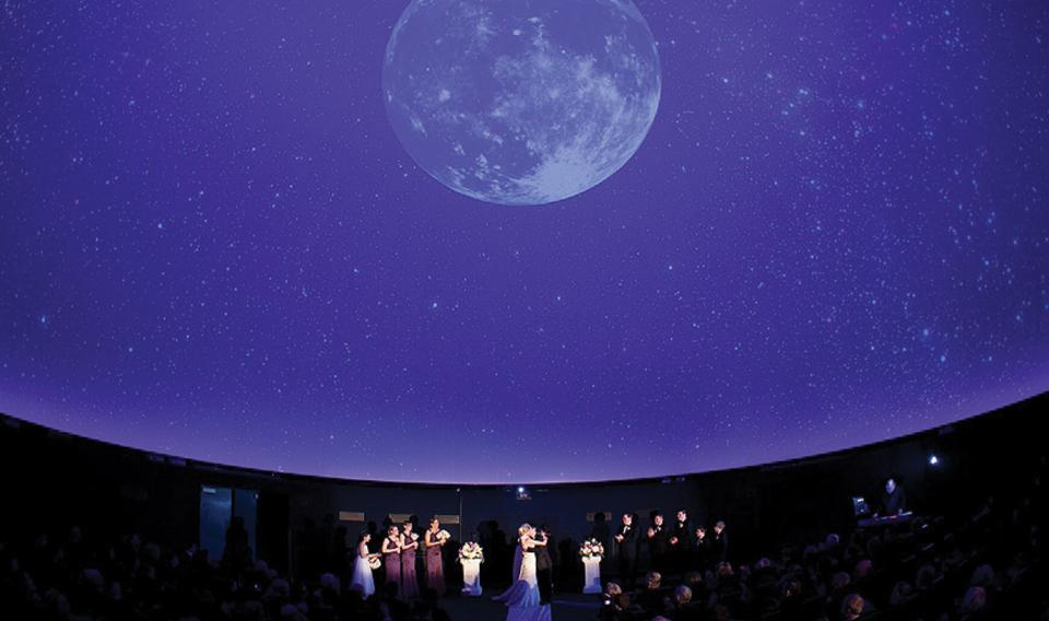 The Fels Planetarium at The Franklin Institute.