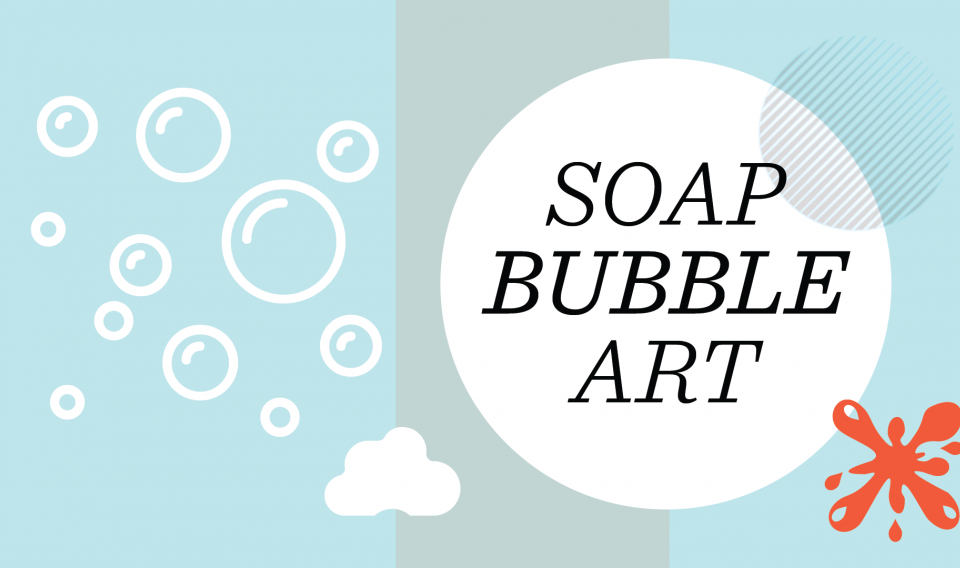 Science Recipes: Soap Bubble Art