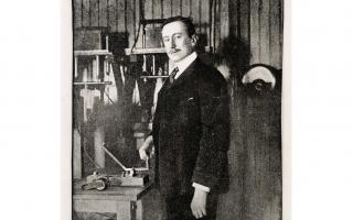 Guglielmo Marconi Case Files Headshot
