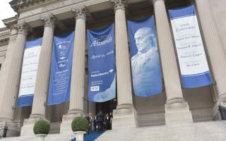 The Franklin Institute Awards banners