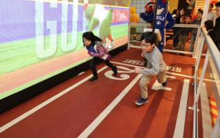 SportsZone exhibit at The Franklin Institute