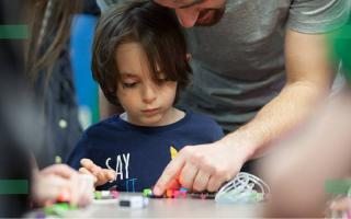 Image of Child at Design Code Day