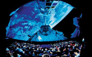 The Tuttleman IMAX Theater at The Franklin Institute.