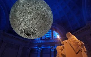 Museum of the Moon with Ben Franklin