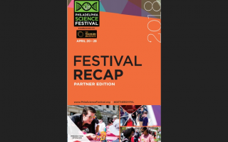 front page of 2018 Final Report for the Philadelphia Science Festival