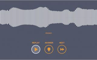 sound waves from Say That Again game