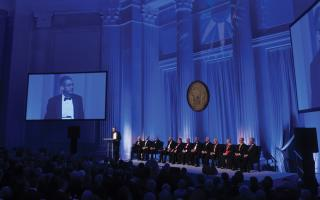 A speech during the 190th Franklin Institute Awards Ceremony and Dinner