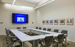 One of the Laureates Conference Center's meeting rooms.