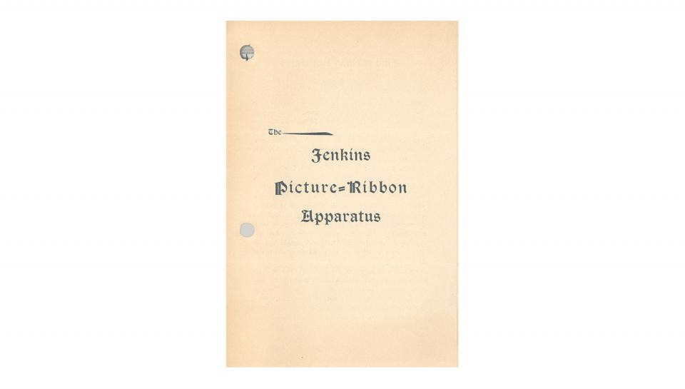 Page 1 of 4: Picture Ribbon Apparatus