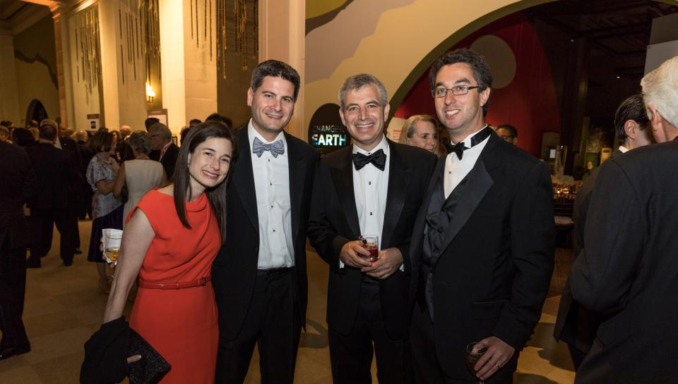 Guests at The Franklin Awards posing together