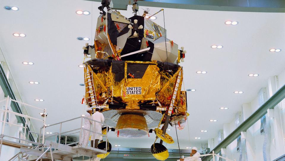 Apollo 12 - Lunar Module (LM)-6 - Relocation