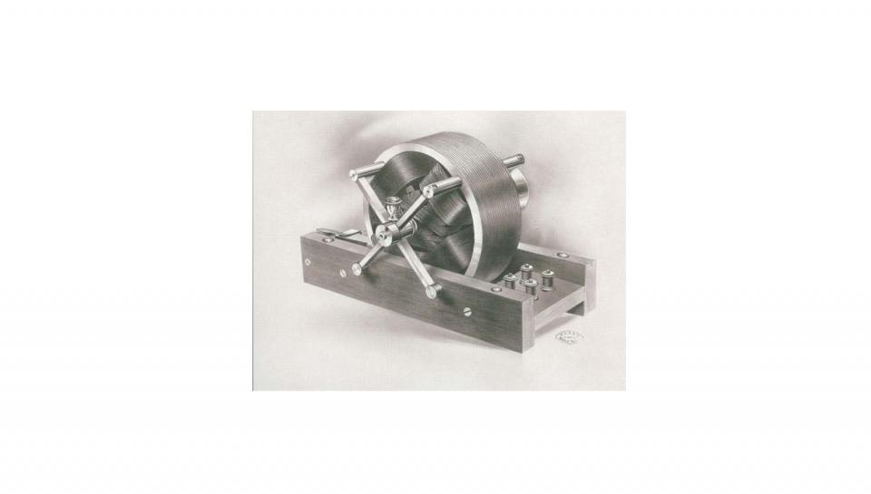 Tesla's Electric Motor. Courtesy the Tesla Memorial Society of New York.