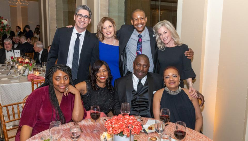 Photo of group from the 2019 Franklin Institute Awards Ceremony and Dinner