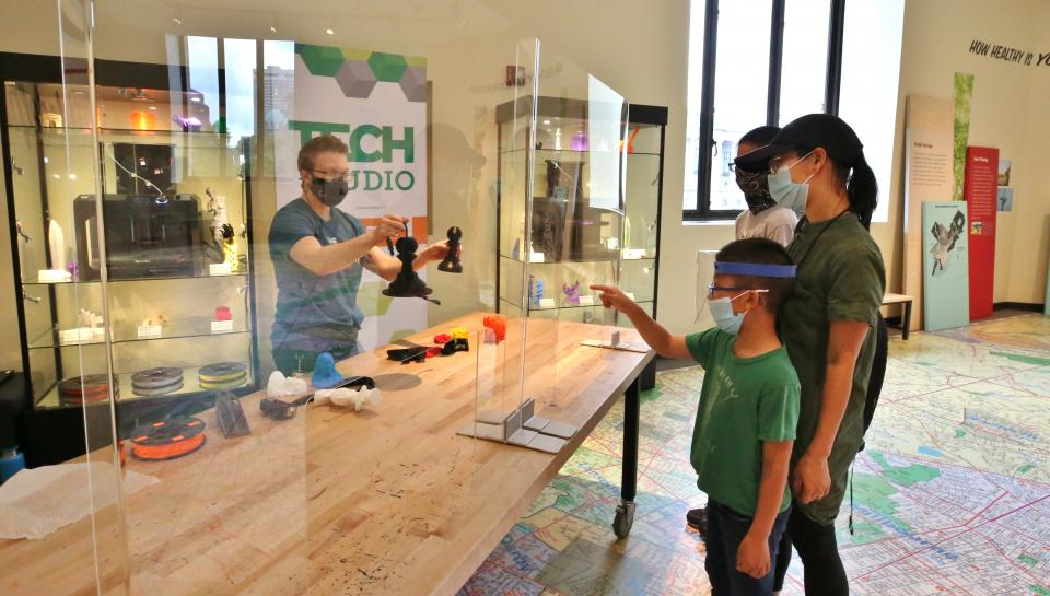Learn all about 3D printing at our Tech Studio!