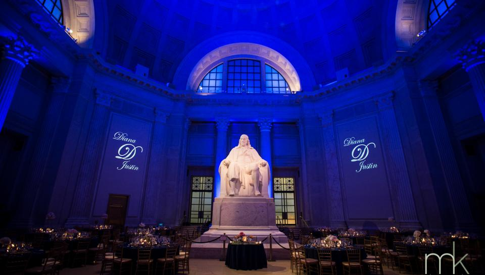 Weddings at The Franklin Institute