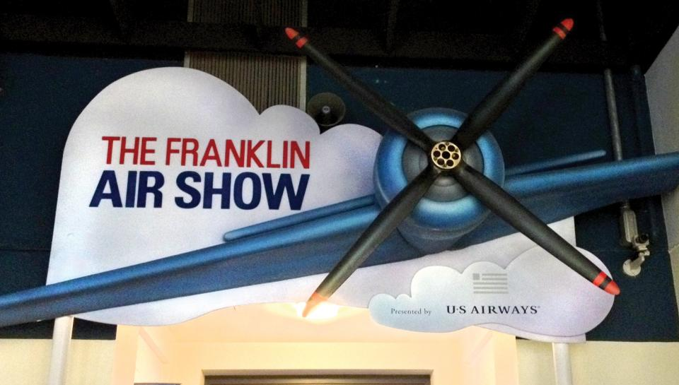 The Franklin Air Show is sponsored by generous corporate partner US Airways.