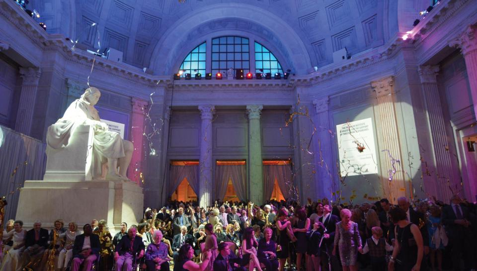 Gala Celebration at the Franklin Institute