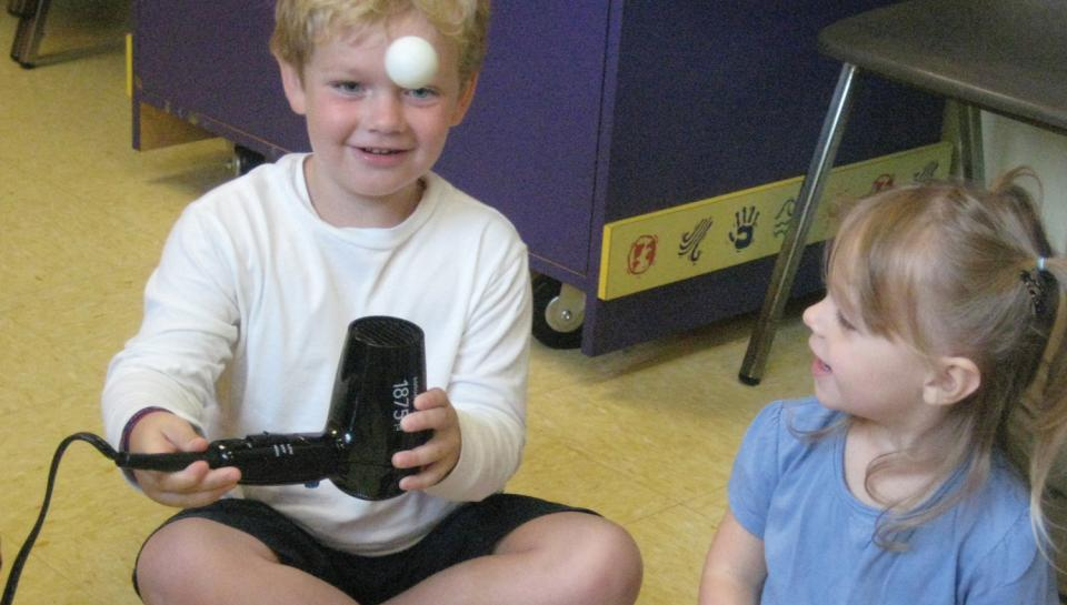 Discovery Camp Fun - Children having fun and learning