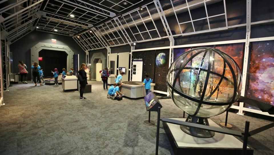 Space command at the Franklin Institute features historic artifacts and engaging hands on displays
