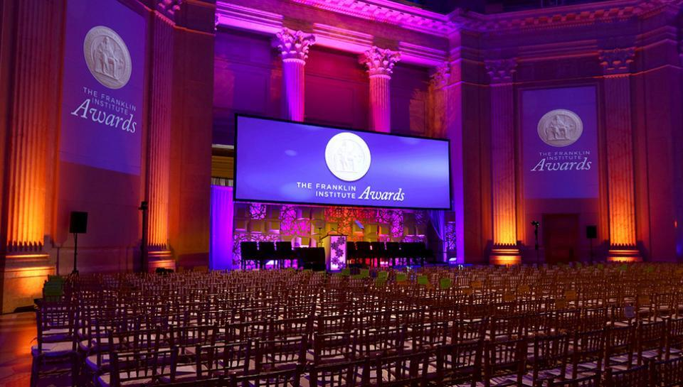 Benjamin Franklin national memorial set up for an event image 6